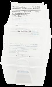 Verblisterung von Tabletten Medikamente Central Apotheke Werdau