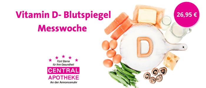 2021 November Vitamin D- Blutspiegel Messwochen Central Apotheke Werdau Veranstaltung Aktion Angebote Untersuchung