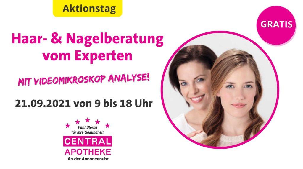 2021 Central Apotheke Werdau Haar- & Nagelberatung September
